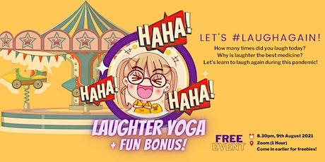 Laughter Yoga + Fun Bonus! HAHAHA tickets