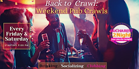 Back to Crawl: Weekend Bar Tours tickets