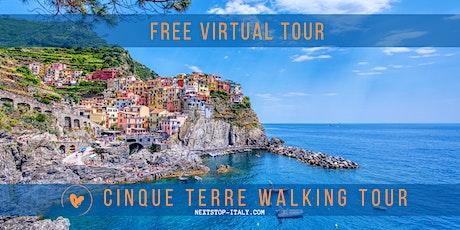 CINQUE TERRE - VIRTUAL WALKING TOUR tickets