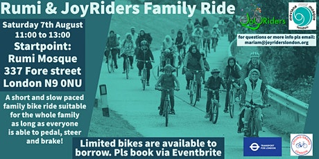 Rumi Family Ride Enfield: Tottenham Marshes tickets
