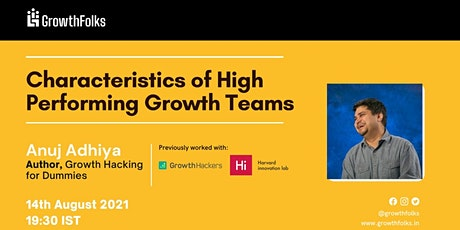 Characteristics of High Performing Growth Teams tickets