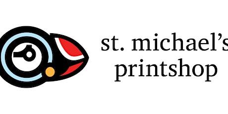 Relief Printing Workshop  with St. Michael's Printshop tickets