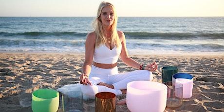 NEW MOON Virtual Sound Bath, Crystal Sound Meditation & Intention Setting tickets