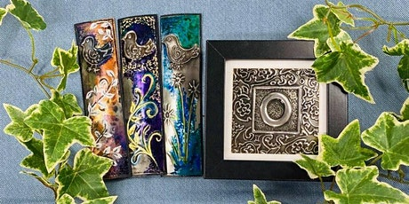 Decorative Pewter Letter and Bookmark Workshop tickets