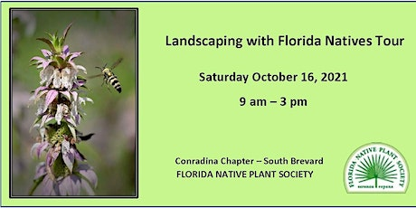2021 Landscaping with Florida Natives Tour tickets