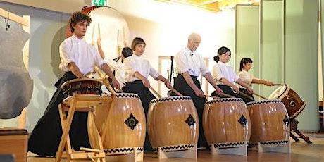"""""""TAIKO"""" Laboratorio di percussioni giapponesi a cura di Giorgio Galimberti biglietti"""