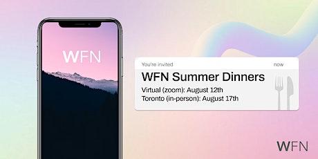 WFN Summer Dinner (Virtual) — 2021 tickets