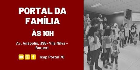 Culto Portal da Família (Manhã) tickets