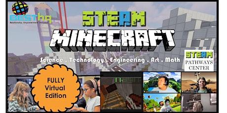 BESThq's Virtual STEAM Minecraft Night (8/20) tickets