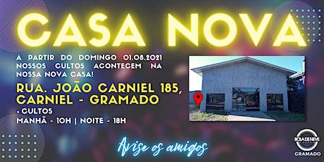 Culto Bola de Neve Gramado - 18H - Noite ingressos