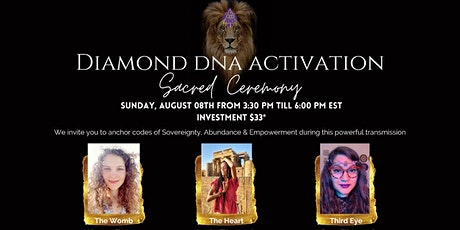 Diamond DNA Activation- Sacred Ceremony (Lionsgate) tickets