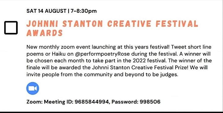 Johnni Stanton Creative Festival Awards image