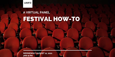 Festival How-To   A Virtual Panel tickets