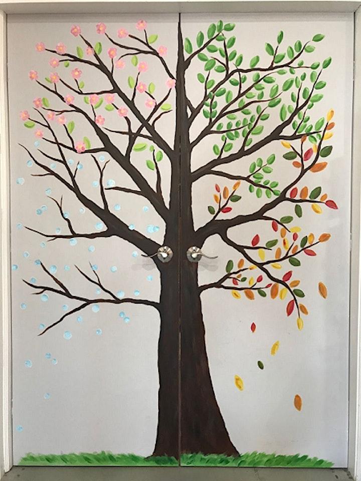 Art Doodles:  Whimsical Tree for All Seasons image