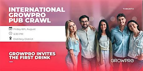 International GrowPro Pub Crawl tickets