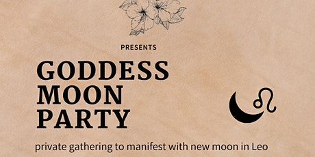 Goddess Moon Party tickets
