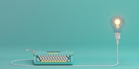 Creative Writing Workshop Online: Setting The Scene tickets