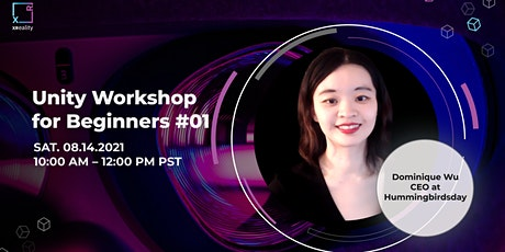 Unity Workshop #01 (For Beginner) with Dominique Wu tickets
