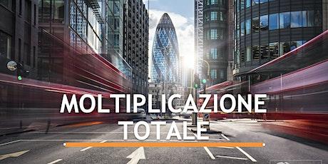 """Presentazione di """"MOLTIPLICAZIONE TOTALE"""" la strada per i Marketer TBCO Ita biglietti"""