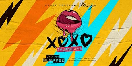 XOXO Thursdays tickets