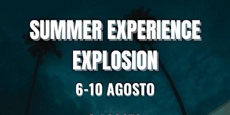 SUMMER EXPERIENCE EXPLOSION billets