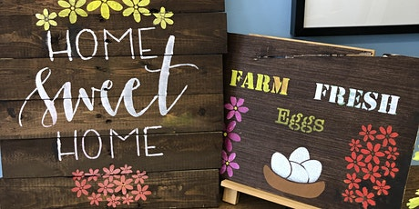 Fall Sign Painting(IN PERSON) tickets
