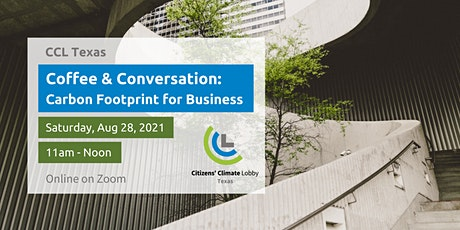 Coffee & Conversation: Carbon Footprint for Business tickets
