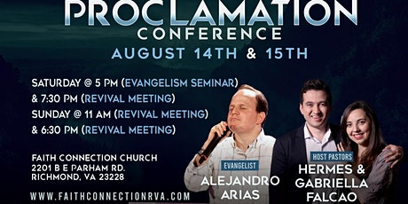 Proclamation Conference tickets