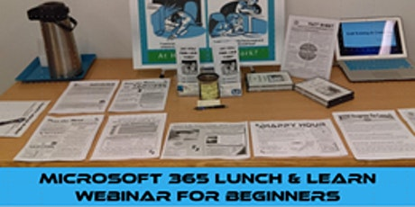Microsoft 365 Lunch & Learn Webinar for Beginners tickets