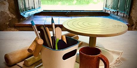 Hand Built Pottery Workshops (September 2021) tickets