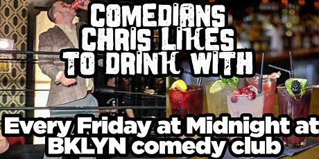 Comedians Chris Likes To Drink With tickets