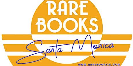 RARE BOOKS LA - SANTA MONICA SHOPPING CONCIERGE APPOINTMENTS tickets