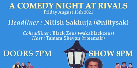 For Your Pleasure: A Comedy Night At Rivals tickets