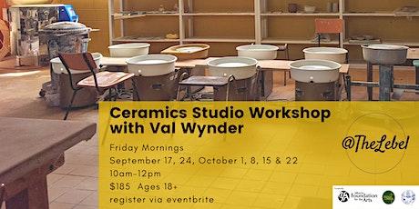 Daytime Ceramics Studio Workshop With Val Wynder tickets