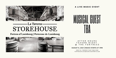 An Evening at La Taverne Storehouse: Live Music TBA tickets
