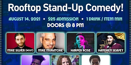 Majik Skool Bus Comedy Presents: Rooftop Comedy @ Grand Central Market tickets