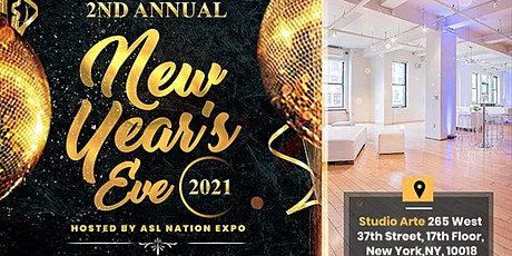 2ND ANNUAL New Year's Eve 2021 party! tickets