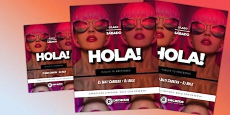 HOLA!!  PECADOS 07.8 entradas