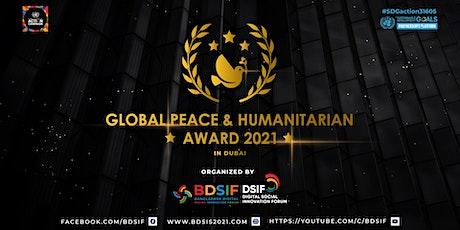 Global Peace & Humanitarian Award 2021 Tickets
