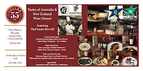 Tastes of Australia & New Zealand featuring Chef Jounte Burwell tickets