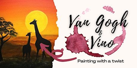 Van Gogh & Vino tickets