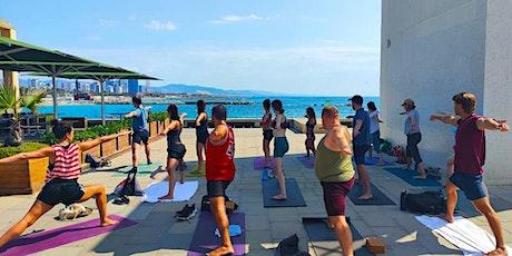 Yoga al aire libre Poblenou entradas