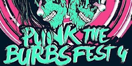 PUNK THE BURBS FEST 4 tickets