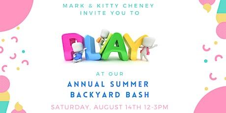 2021 Summer Backyard Bash Client Appreciation Event tickets