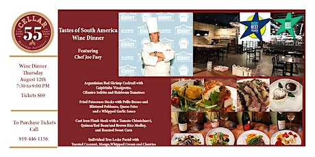 Copy of Tastes of South America featuring Chef Joe Fasy tickets
