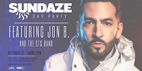 Sundaze Day Party Featuring Jon B. tickets