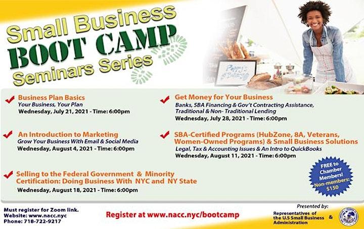 Small Business Boot Camp Seminar Series image