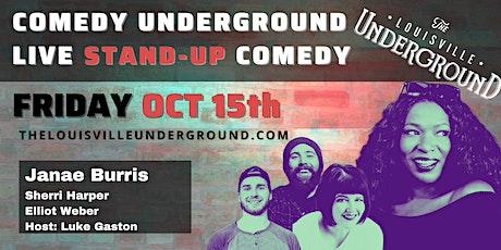 Comedy Underground with host Luke Gaston tickets
