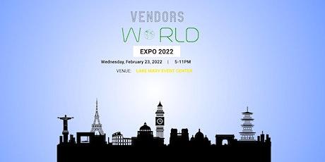 Vendors World Expo tickets