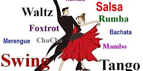 latin/ballroom, group dance class ,beginner/intermediate level tickets